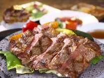 上州牛の石焼ステーキコースは人気ナンバーワン!柔らかジューシーなお肉をご堪能ください