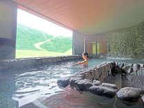 【奥白馬温泉】展望岩風呂、美人の湯、ミストサウナなど計11種類の湯めぐりが楽しめます♪※一部わかし湯