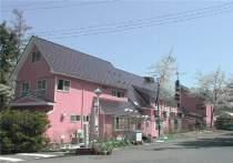 ローズピンクの可愛い外観