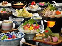 【5-6月限定】スペシャルプライス!源泉かけ流しの湯と季節のお料理を堪能♪平日限定1泊2食付