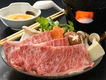 仙台牛のすき焼き 一例