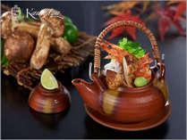 【王様のビュッフェ 秋】松茸の土瓶蒸し※イメージ