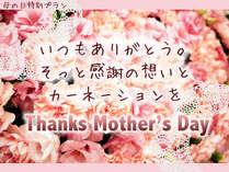【母の日★8,801円(税別)】いつもありがとう。感謝の想いとカーネーションを♪【5月6日~22日限定】