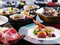 ~『北陸の美味満載』会席~ワンランク上のコースです。料理長渾身のお料理を味わう四季替わり会席