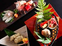 ~北陸の美味満載会席~ 渾身の吉田屋山王閣最高ランクのコースです。北陸の『旨い』をご堪能ください。