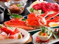 ~新『かにグルメ』会席~ずわい蟹姿茹でや牛しゃぶしゃぶなど秋冬は毎年当館で人気第1位のコース