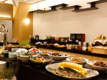 ~約40種類の朝食バイキング~ 色とりどりの食材をみていたらいつもより沢山食べちゃいそう♪