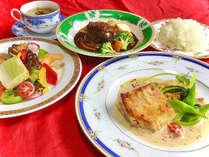 夕食一例/軽井沢の別荘族御用達の「バロン」からデリバリー