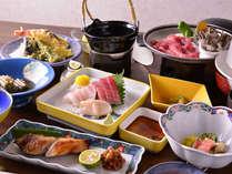 *お夕食一例/地元の食材をふんだんに活かした岩手の郷土料理をお愉しみ下さい。