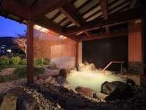 湯殿につかり蔵王連峰・竜山の絶景を一望できます。