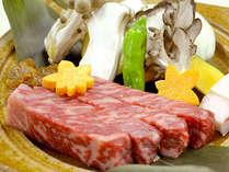 山形牛の味噌焼きステーキ