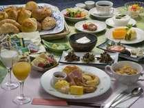 ■朝食/朝から大満足の朝食バイキング