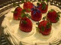 誕生日♪記念日♪特別な一日を心に残る思い出に、シェフ特製リピーターに好評ホールケーキ付