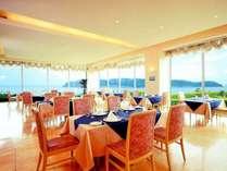 海が見えるレストランソレイユでフレンチをお楽しみください。