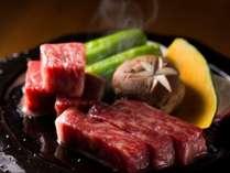和歌山県産黒毛和牛【熊野牛】陶板焼き(画像はイメージです)