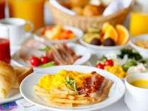 和洋朝食バイキングの洋食一例(画像はイメージです)