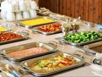 和洋朝食バイキング 洋食メニュー一例(画像はイメージです)