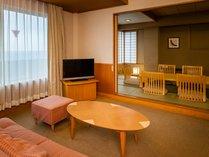 ★和室12畳+リビング・海側★48平米