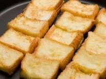 【朝食】人気のフレンチトースト