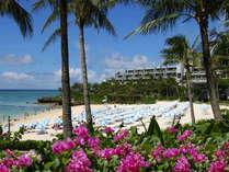 自然にいちばん近いリゾートへ。 ホテルムーンビーチ 外観