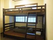ご友人との旅行に最適な2名様個室プラン (2段ベッド)