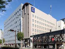 ホテル外観■コンフォートホテル長野はJR長野駅より徒歩3分です
