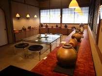 唐津焼の陶芸家中里隆、太亀、花子の器を展示販売しています