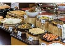 【朝食がプチっとリニューアル!】手作りが自慢の大人気朝食ビュッフェがさらにパワーアップしました。