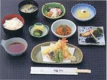 ◇旬のお魚・天ぷらがついた 御膳料理◇