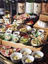梅林秋酔いプラン。秋の味覚満載の盛込み料理です!