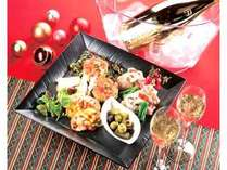 ☆彡素敵な夜に☆彡クリスマスオードブル&スパークリングワイン付プラン『GOLD~ゴールド゛』
