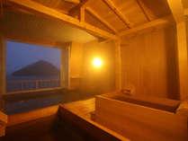 眺望露天からは陸奥湾の潮風や青森ヒバの香りを堪能できます。
