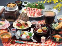 津軽(つがる)お料理の一例:季節により料理内容が変わります。