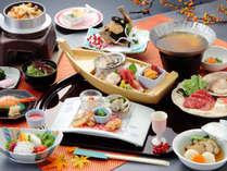 陸奥(むつ)お料理の一例:季節により料理内容が変わります。