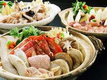 ☆アンコウ・ほろほろ鳥・海鮮☆3種の鍋プラン販売中!お好みのプランからご予約ください♪