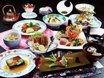 ☆雅-miyabi- 当館最上級の和膳コース!春の彩り豊かな和食膳♪