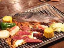 【BBQ】おいしい食材たっぷり♪コテージのテラスでBBQ☆