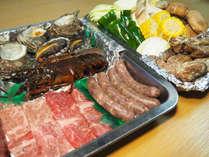 【食材グレードアップ】アワビ・伊勢海老・熊野牛♪豪華食材でスペシャルBBQプラン≪2食付≫