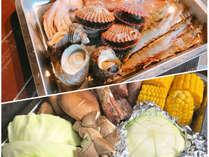 【選べるBBQプラン】海鮮好きには嬉しい♪いろんな海鮮をを楽しめます!<一例>
