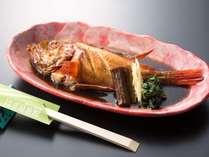 茨城県北海岸地方のおもてなし料理「キンキの煮魚」