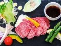 常陸牛の石焼き 料理イメージ