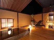 癒しの時をお楽しみ頂ける、客室露天風呂