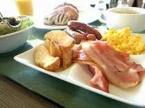*たくさん食べて朝から元気にご出発♪(※写真はイメージになります)