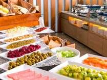 【朝食ブッフェ】好きな具材でつくるサンドウィッチコーナー