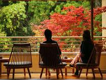 二名様の利用を想定し、全室が露天風呂付きの客室です。癒しの温泉で過ごす贅沢なひと時をお過ごし下さい。