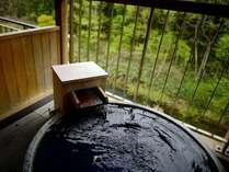露天風呂付和洋室【2・3階】(禁煙)露天風呂 源泉かけ流しです。
