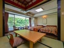 スタンダード和洋室(タイプE)山側の眺めのいいお部屋