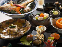 霜月の会席料理よりのどぐろが冬の別注料理でございます