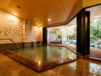 2019年5月に大浴場がリニューアル。明るく開放的な空間の中で湯あみをお楽しみいただけます。