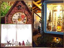 クリスマス飾りに囲まれて、静かに過ごすひとときを。